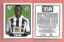 Newcastle United Amady Faye Senegal 358